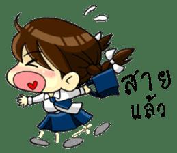 3 Thai Convent School Girls sticker #8776910