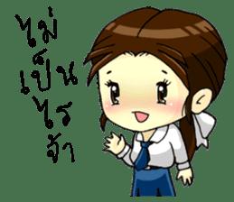 3 Thai Convent School Girls sticker #8776914