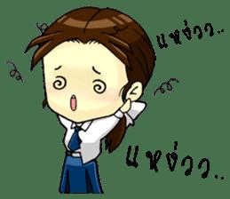 3 Thai Convent School Girls sticker #8776930