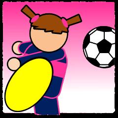 Women's football sicker(Live Scores)