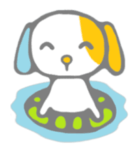 Buchi,the lop-eared dog sticker #8780840