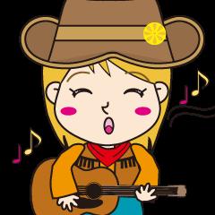 Cutie Cowgirl (Cowboy girl version)