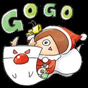 สติ๊กเกอร์ไลน์ Kawaii GeGeGe no Kitaro3