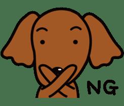 Sarcasm dog Vol.2 sticker #8813419
