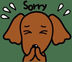 Sarcasm dog Vol.2 sticker #8813427