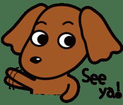 Sarcasm dog Vol.2 sticker #8813428