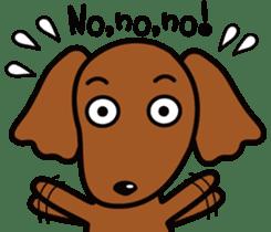 Sarcasm dog Vol.2 sticker #8813430