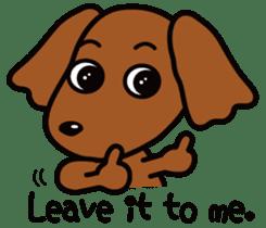Sarcasm dog Vol.2 sticker #8813432