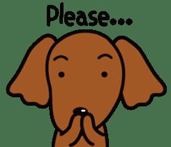 Sarcasm dog Vol.2 sticker #8813436