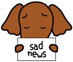 Sarcasm dog Vol.2 sticker #8813443