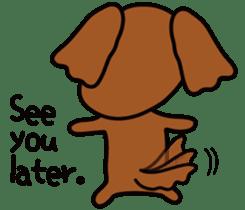 Sarcasm dog Vol.2 sticker #8813453