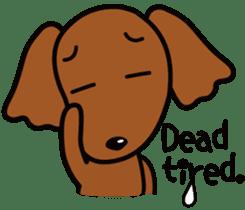 Sarcasm dog Vol.2 sticker #8813454