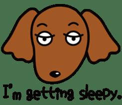 Sarcasm dog Vol.2 sticker #8813455