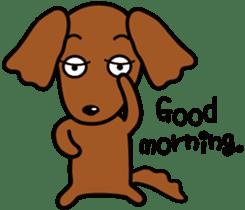 Sarcasm dog Vol.2 sticker #8813457