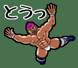 Professional wrestler kengo!! sticker #8819633