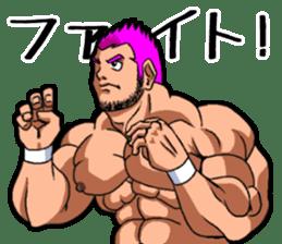 Professional wrestler kengo!! sticker #8819637