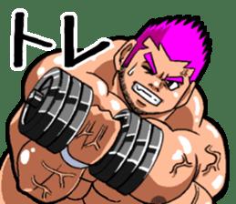 Professional wrestler kengo!! sticker #8819640