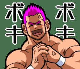 Professional wrestler kengo!! sticker #8819647