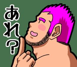 Professional wrestler kengo!! sticker #8819653