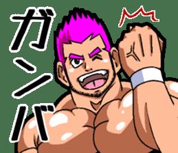 Professional wrestler kengo!! sticker #8819658