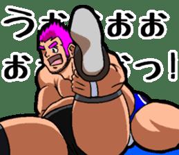 Professional wrestler kengo!! sticker #8819663