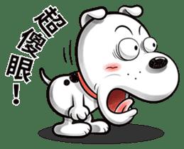 Cool dog-Office worker sticker #8829665