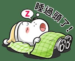 Cool dog-Office worker sticker #8829666