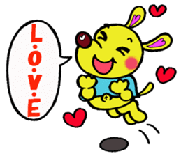 Bun-chan's Daily Conversation Part 3 sticker #8831732