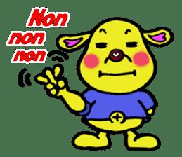 Bun-chan's Daily Conversation Part 3 sticker #8831743