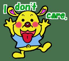 Bun-chan's Daily Conversation Part 3 sticker #8831744