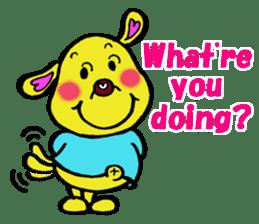 Bun-chan's Daily Conversation Part 3 sticker #8831747