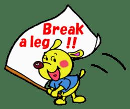 Bun-chan's Daily Conversation Part 3 sticker #8831751