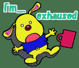 Bun-chan's Daily Conversation Part 3 sticker #8831752