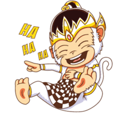 Cute Hanoman sticker #8834143