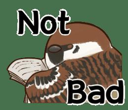 fat sparrow ver.2 sticker #8834765