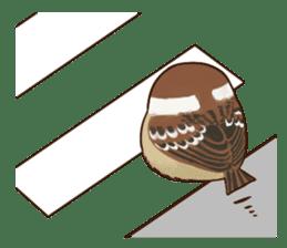 fat sparrow ver.2 sticker #8834770