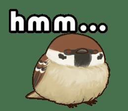 fat sparrow ver.2 sticker #8834777