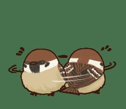 fat sparrow ver.2 sticker #8834779