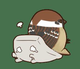 fat sparrow ver.2 sticker #8834784