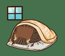 fat sparrow ver.2 sticker #8834795