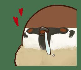 fat sparrow ver.2 sticker #8834798