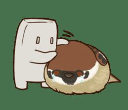 fat sparrow ver.2 sticker #8834800