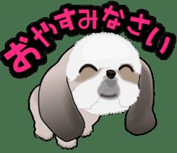 Cute Shih Tzu sticker #8836206