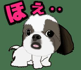 Cute Shih Tzu sticker #8836219