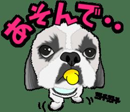 Cute Shih Tzu sticker #8836234