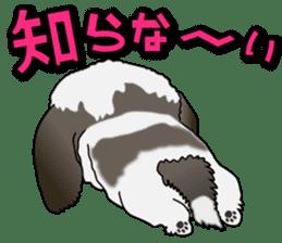 Cute Shih Tzu sticker #8836235