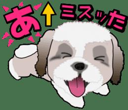 Cute Shih Tzu sticker #8836241