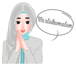 Hijab Outfit of The Day sticker #8837648