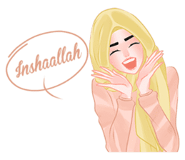Hijab Outfit of The Day sticker #8837661