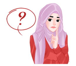 Hijab Outfit of The Day sticker #8837667